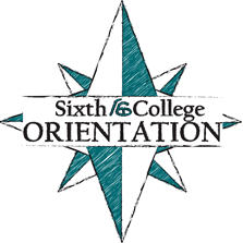 Sixth College Orientation Logo